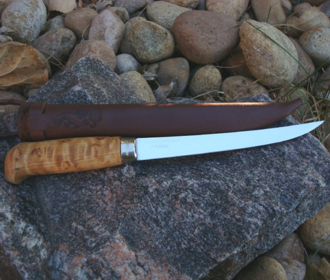 Curly Birch Fillet Knife