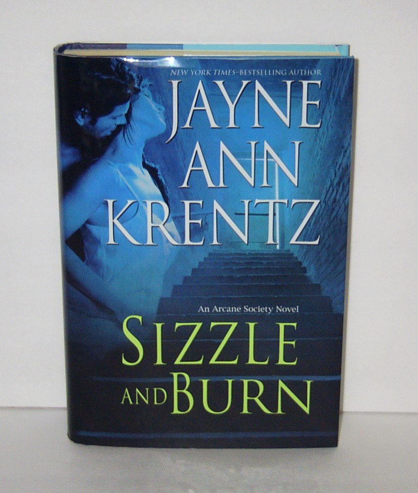 SIZZLE AND BURN by Jayne Ann Krentz BOOK