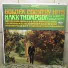 Golden Country Hits HANK THOMPSON Brazos LP Record Vinal ALBUM Capitol ST 2089