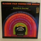 Classic Film Themes for Organ GAYLORD CARTER LP Record Vinal ALBUM DEL/F25419