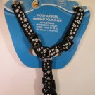 DOG HARNESS Paws N Claws Black Small NEW
