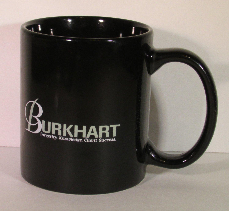 BURKHART Integrity Knowledge Client Success Coffee CUP Mug NEW