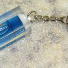 Acrylic Blue LEVEL Mini KEY CHAIN Ring Keychain NEW