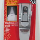 LED Foldable Portable Clip On BOOK Reading LIGHT Lamp NEW by BOSSmart