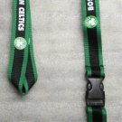 NBA Boston Celtics Breakaway Disconnect LANYARD KEY CHAIN Ring Keychain ID Hold NEW