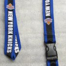 NBA New York Knicks Lanyard KEY CHAIN Ring Keychain NEW