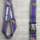 NBA Phoenix Suns Breakaway Disconnect LANYARD KEY CHAIN Ring Keychain ID Holder NEW