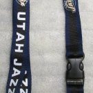 NBA Utah Jazz Breakaway Disconnect LANYARD KEY CHAIN Ring Keychain ID Holder NEW
