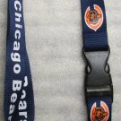 NFL Chicago Bears Breakaway Disconnecting Football LANYARD ID Key Holder NEW
