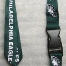 NFL Philadelphia Eagles Breakaway Disconnecting Football LANYARD ID Key Holder NEW