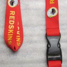 NFL Washington Redskins Breakaway Disconnect Football LANYARD ID Key Holder NEW