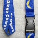 NFL San Diego Chargers Breakaway Disconnect Football LANYARD ID Key Holder NEW