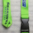 NFL Seattle Seahawks Breakaway Disconnect Football LANYARD