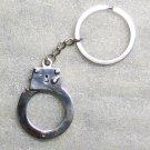 Mini Working HAND CUFF Handcuffs High Quality KEY CHAIN Ring Keychain NEW
