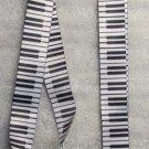 PIANO KEYS Music LANYARD KEY CHAIN Ring Keychain ID Holder NEW