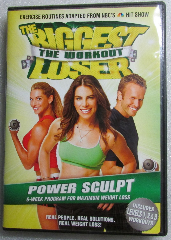 THE BIGGEST LOSER The Workout Power Sculpt Kim Lyons Bob Harper Jullian DVD