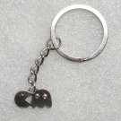 Vintage PACMAN Pac Man Fever Arcade Game Metal KEY CHAIN Ring Keychain NEW