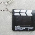 Directors Photo Movie FILM CLAPBOARD Pendent KEY CHAIN Ring Keychain NEW