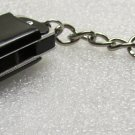 Mini HARMONICA Black Mouth Organ KEY CHAIN Ring Keychain NEW