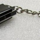 Mini HARMONICA Black Mouth Organ KEY CHAIN Ring Keychain NEW