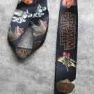 STAR WARS Plain Lettering Photo LANYARD KEY CHAIN Ring Keychain ID Holder NEW