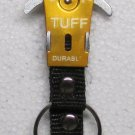 TUFF GOLD Carabiner Camping Hiking Aluminum Outdoor KEY CHAIN Ring Keychain NEW