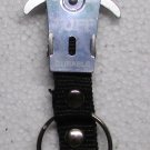 TUFF SILVER Carabiner Camping Hiking Aluminu Outdoor KEY CHAIN Ring Keychain NEW