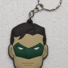 Avengers GREEN LANTERN Rubber KEY CHAIN Ring Keychain NEW