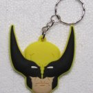 Avengers WOLVERINE Rubber KEY CHAIN Ring Keychain NEW