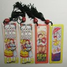 Mary Engelbreit BOOKMARKs Set of 4 Book Mark Marker Bead Tassel NEW