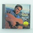 JAMES BONAMY What I Live To Do CD