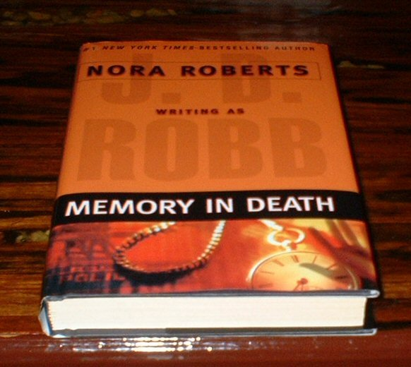 Memory In Death by J.D. RobbHardback Nora Roberts HB