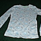Boys Thermal Shirt with Polar Bear Print Size 8
