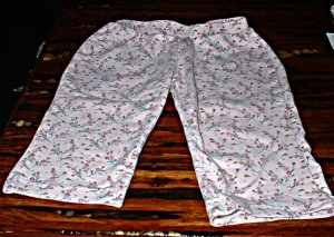 6-12mth Old Navy Pink Print Pull On Pants