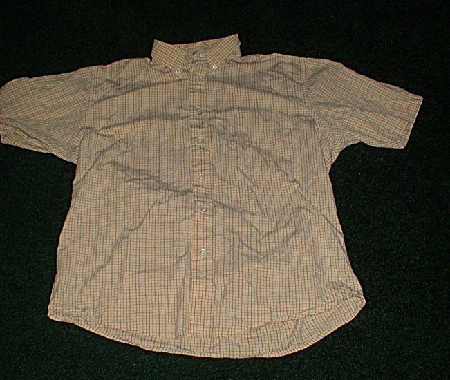 Mens LIKE NEW Medium Yellow Collared Button Down Shirt