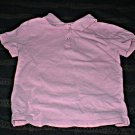 Girls Pink Polo Shirt 3T Like New