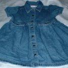 Girls Denim Dress Size 4