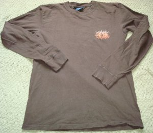 Guys AE Long Sleeve Vintage Look Shirt Size SMall Like New