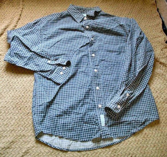 American Eagle Size Small Green Button Down Shirt