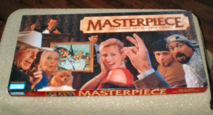 Masterpiece boardgame