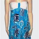 BALI DRESS MIKONOS CASHMIRA BLUE
