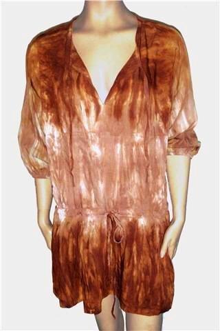 BALI DRESS RIO BROWN