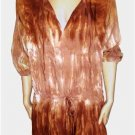 BALI DRESS RIO BROWN