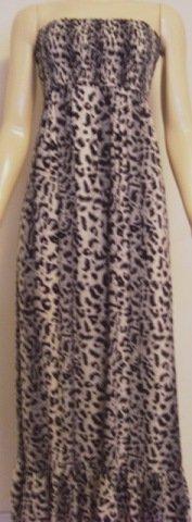 BALI LONG DRESS TAHITI TIGER