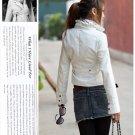 Korean Fashion Wholesale [B2-1591] Jacket - White