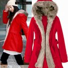 Korean Fashion Wholesale [E2-1001] Coat - Red
