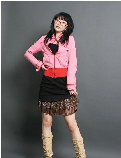 Korean Fashion Wholesale [C2-2225] Pretty Satin Inner slip Dress - Brown