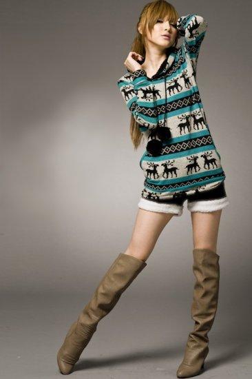 Korean Fashion Wholesale [B2-6237] Shorts - Black - Size M