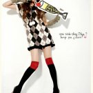 Korean Fashion Wholesale [B2-1601] Fun Plaid Dress - Gray