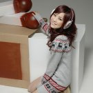 Korean Fashion Wholesale [C2-116] Cute Sweater Dress - Light Gray
